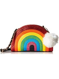 Betsey Johnson I Love Hue Crossbody, Multi ❤ Betsey Johnson