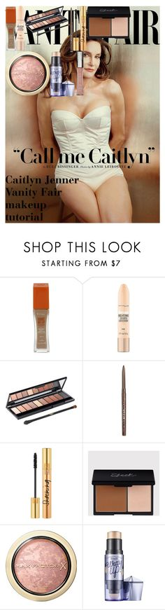 """Caitlyn Jenner Vanity Fair makeup tutorial"" by oroartye-1 on Polyvore featuring beauty, Rimmel, Maybelline, L'Oréal Paris, Stila, Yves Saint Laurent, Max Factor and Benefit"