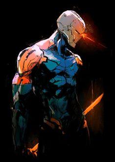 Robot Concept Art, Armor Concept, Robot Art, Fantasy Character Design, Character Design Inspiration, Character Art, Gray Fox Metal Gear, Assassins Creed, Raiden Metal Gear