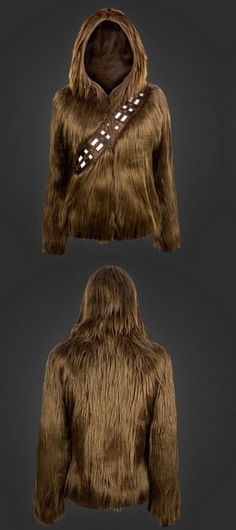 The ultimate swag for any Star Wars fan! The Chewbacca hoodie has a price tag