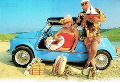 Fiat 500 beach version<3