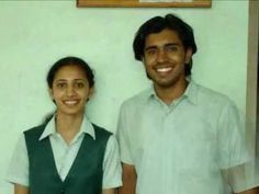 Actor Nivin Pauly & wife Rinna Joy - Picture taken while studying in fisat - YouTube