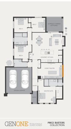 McDonald Jones Homes - Chelsea Collection - Floorplan #Floorplans #luxuryhome