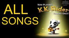 All Animal Crossing K.K. Slider Songs! (GameCube)
