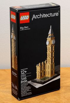 LEGO Architecture Land Mark Series Big Ben London Great Britain 21013 New in Box #LEGO