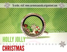 Get in the Christmas holiday mood with an Origami Owl locket. Our sweet candy cane, peppermint, ice skate and snowflake charms are the perfect additions.   #Christmas #origamiowl #candycane  http://www.facebook.com/OrigamiOwlByCarmenSauceda