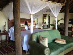 Tongabezi Lodge on the great Zambezi River Zambia, Africa