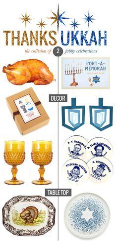 Thanksukkah Celebration via Mrs. Lilien