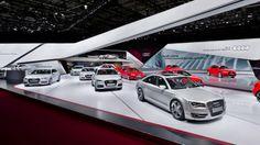 Audi Paris Motor Show 2012   KMS BLACKSPACE & SCHMIDHUBER