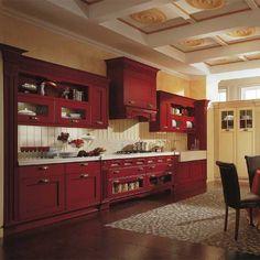 Классическая кухня с акцентом на вытяжку, в ярком цвете! Kitchen Cabinets, Home Decor, Restaining Kitchen Cabinets, Homemade Home Decor, Kitchen Base Cabinets, Interior Design, Home Interiors, Decoration Home, Home Decoration