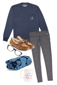 """{Fall}ing into my bed for the night!"" by annahbirch ❤ liked on Polyvore featuring interior, interiors, interior design, home, home decor, interior decorating, UGG Australia, Moon and Lola, Ray-Ban and Vera Bradley"