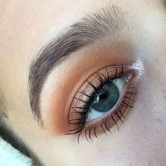 this makeup would be perfect for a glam natural look!