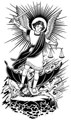 """St. Michael Subdues Satan"", 2005."
