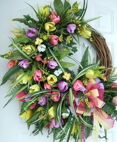 Hey, I found this really awesome Etsy listing at https://www.etsy.com/listing/223536003/custom-order-xxl-easter-wreath-spring