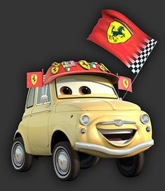 disney cars   Luigi - Disney Cars