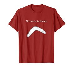 Philosophy Boomerang Shirt No One Is To Blame Creative Shirts, Branded T Shirts, Blame, Hoodies, Sweatshirts, Philosophy, Fashion Brands, Long Sleeve Shirts, Karma