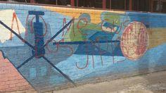 Grafiti, stencil y mural 3 en 1