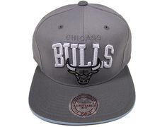 buy online 4bb94 eaf84 Cool Hats   Cool-Grey-Chicago-Bulls-Snapback-Hat-by