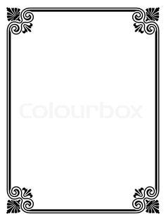 Image Result For Word Border Design