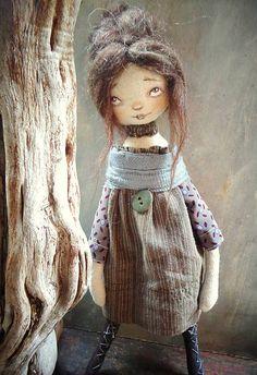 Hadrnici / Natura doll - hnědovláska