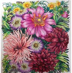 Flower Coloring Pages, Coloring Book Art, Coloring Tips, Adult Coloring Pages, Coloring Sheets, Colored Pencil Techniques, Coloring Tutorial, Colouring Techniques, Watercolor Pencils