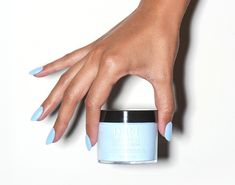 Introducing the OPI Powder Perfection Dipping Powders Powder Nail Polish, Blue Nail Polish, Powder Nails, Blue Nails, Nail Design Video, Dipped Nails, Beauty Advice, Beauty Ideas, Beauty Hacks