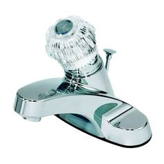 Bathroom Faucets DIY | Aqueous 10B41WYCH Lavatory Faucet 1Handle Knob with Popup Centerset Chrome -- You can find out more details at the link of the image. Note:It is Affiliate Link to Amazon.