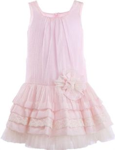 Chamomile Kisses Drop Waist Dress<br>2 to 14 Years<BR>Now in Stock