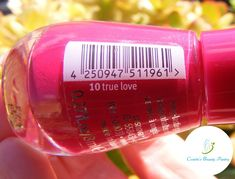 Cosette's Beauty Pantry: Nails Of The Day (NOTD): True love 💕