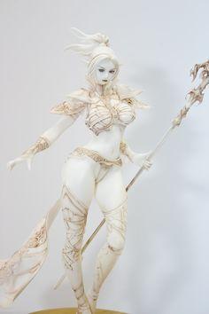 by blackducan (dark_elf orchid_seed lineage_ii iwanaga_sakurako ncsoft Fantasy Art Women, Dark Fantasy Art, Fantasy Girl, Fantasy Artwork, Character Design Cartoon, Fantasy Character Design, Character Art, Fantasy Female Warrior, Female Art