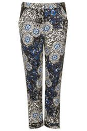 Moroccan Tile Cigarette Trousers
