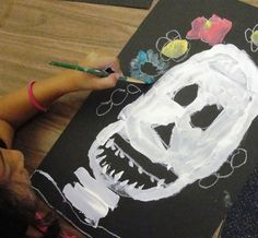 day of the dead - first grade