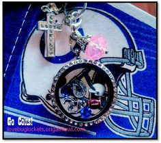 My favorite ever!  I love my Colts Living Lockets!  #COLTSTRONG  by Origami Owl. http://lovebuglockets.origamiowl.com #NFLCOLTS