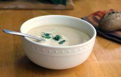 A Potato Leek Soup Recipe : HGTV Gardens