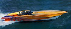 New 2013 - Fountain Boats - 42 Poker Run Fast Boats, Speed Boats, Fountain Powerboats, Fountain Boats, High Performance Boat, Poker Run, Offshore Boats, Smoke On The Water, Marine Engineering