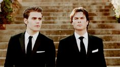 The Vampire Diaries Stefan & Damon Vampire Diaries Stefan, Serie The Vampire Diaries, Vampire Diaries The Originals, Caroline Forbes, Paul Wesley, The Cw, Katherine Pierce, Damon And Stefan Salvatore, Stefan Tvd