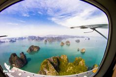 - Halong Bay view from a seaplane Hanoi, Aerial View, Surfboard, Airplane View, Countryside, Aviation, Coastal, Cruise, Tours