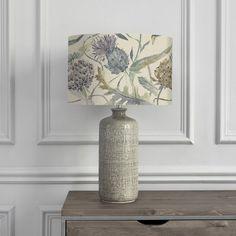Meadwell Skylark Shade with Inopia Smoke Table Lamp