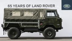 65 years of land rover