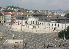 Slovakia, Bratislava, Presidential palace