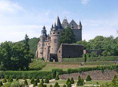 Schloss Buerresheim castle in Germany. Used in Indiana Jones and The Last Crusade as Castle Brunwald.