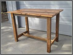 Image result for bar height table plans