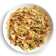 Chile-Garlic Cabbage | CookingLight.com #myplate, #veggies