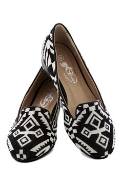 Travel Writer Flat. A fabulous flat in a bold print makes for an ideal travel companion! NaN