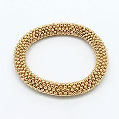 Bruiloft / Feest / Dagelijks / Causaal - Armbanden met ketting en sluiting / Bangles / Vintage Armbanden ( Legering , Gouden )