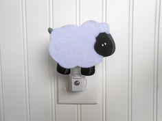 Sheep Nursery Decor  Lamb Nursery Decor  Night by LaurenAnnaLei, $11.00
