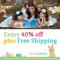 Perfect Easter basket gift for your kiddos. Www.theilikebook.com. Available in 4 colors. Every child deserves one!