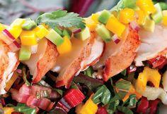 Recette Salade de homard à l'avocat et à la mangue - Coup de Pouce