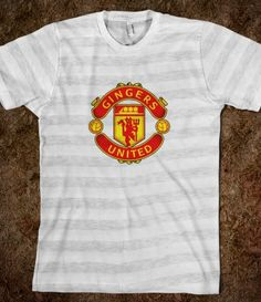 Gingers United. Redjarwebdesign