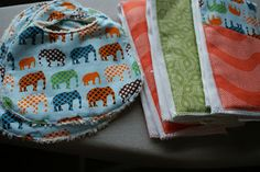 andie johnson sews: Burp Cloths - Tutorial